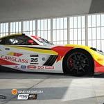Images 3D voiture GT4 Bordeaux