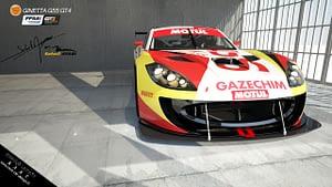 Images synthèses 3D voiture GT4 Bordeaux